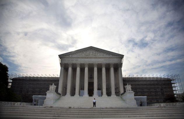 The Supreme Court.  (AP Photo/Evan Vucci)