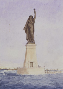 The decision came as a disappointment to Lady Liberty's creator, Frédéric Auguste Bartholdi, who'd envisioned the Suez Canal as the ideal venue for his mammoth harbor structure.