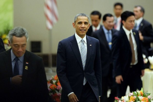 President Obama on Thursday attended a meeting of leaders of Southeast Asian nations in Myanmar' s capital, Naypyidaw.   Credit Christophe Archambault/Agence France-Presse — Getty Images