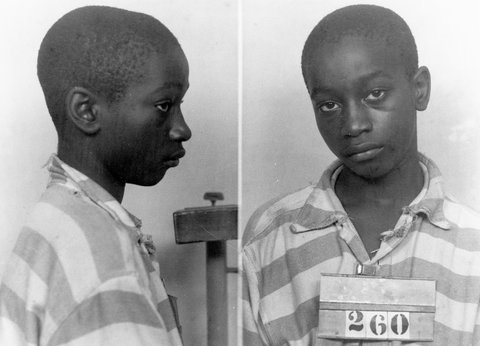 George Stinney in 1944. Credit SC Department of Archives and History, via Associated Press
