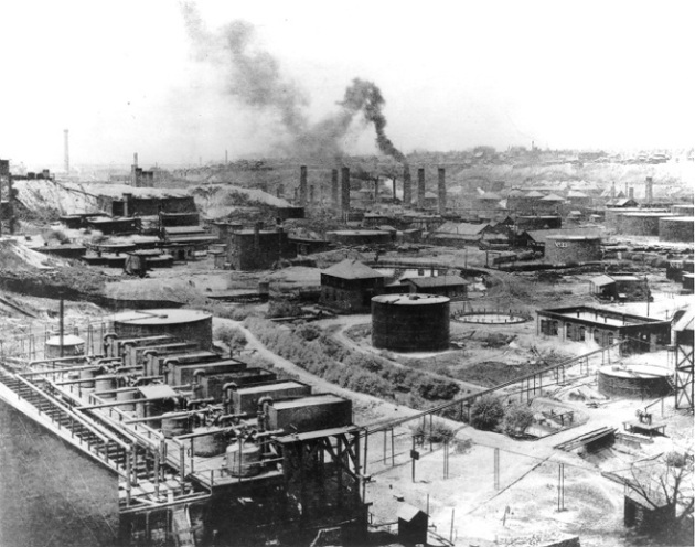 Standard Oil Refinery No. 1 in Cleveland, Ohio