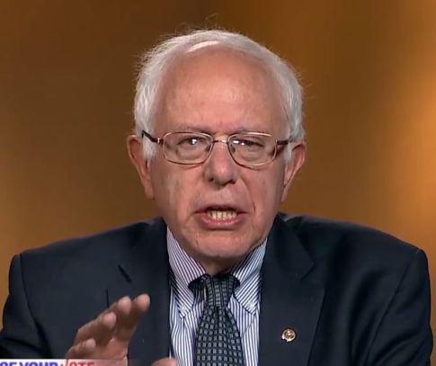 Presidential candidate U.S. Senator Bernie Sanders