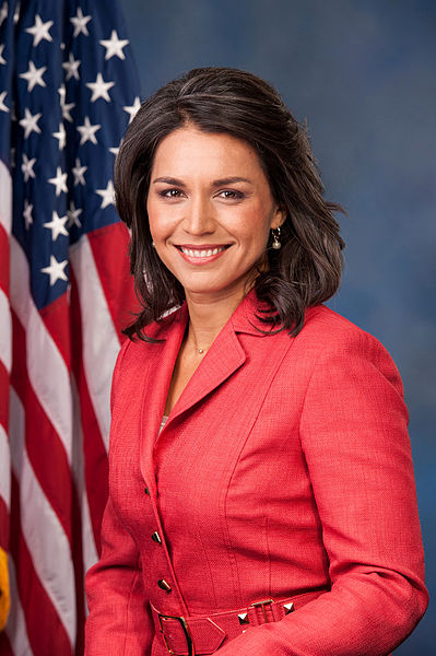 Congresswoman Tulsi Gabbard (D) Hawaii