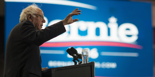 Presidential Candidate Bernie Sanders Holds Election Night Event
