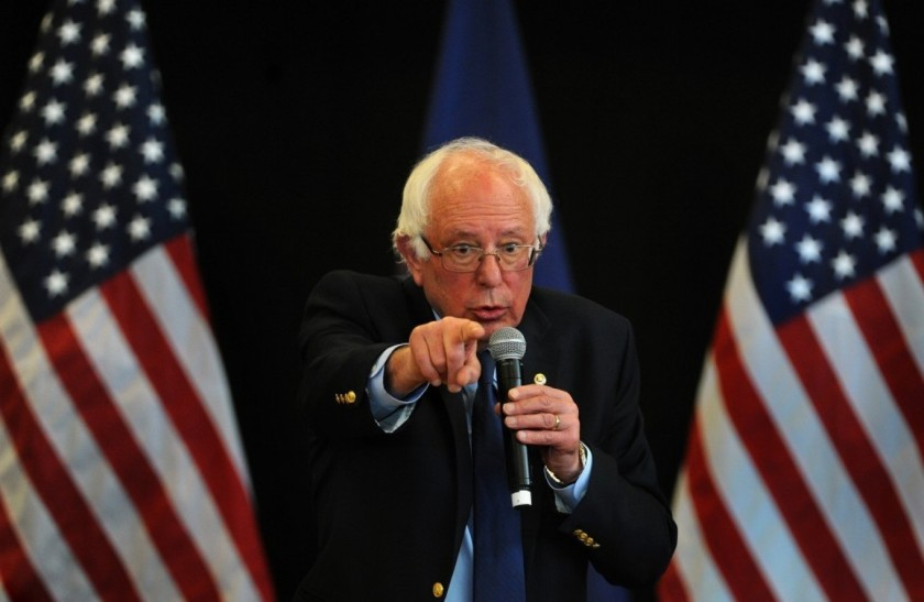 Presidential candidate Bernie Sanders Photo credit: Michael S. Williamson/The Washington Post