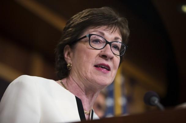 United States Senator Susan Collins (R) Maine